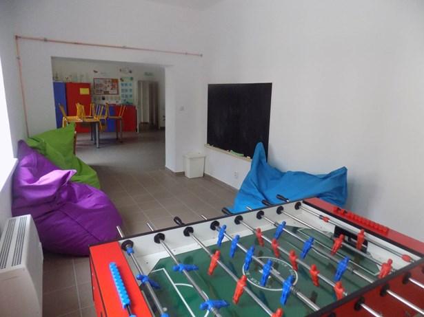 Popis: Opravené prostory nízkoprahového klubu Horizont.