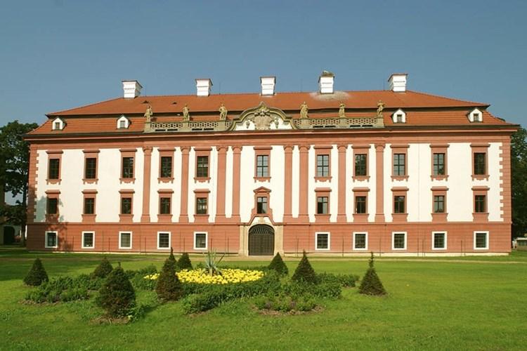 Zámek Kunín je barokní perlou celé Moravy