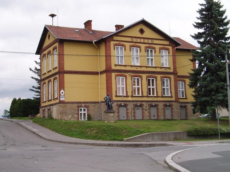 Popis: Budova Muzea městyse Suchdol nad Odrou.