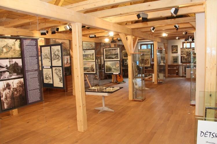 Muzeum poodhaluje tvorbu světově uznávaného malíře pravěku