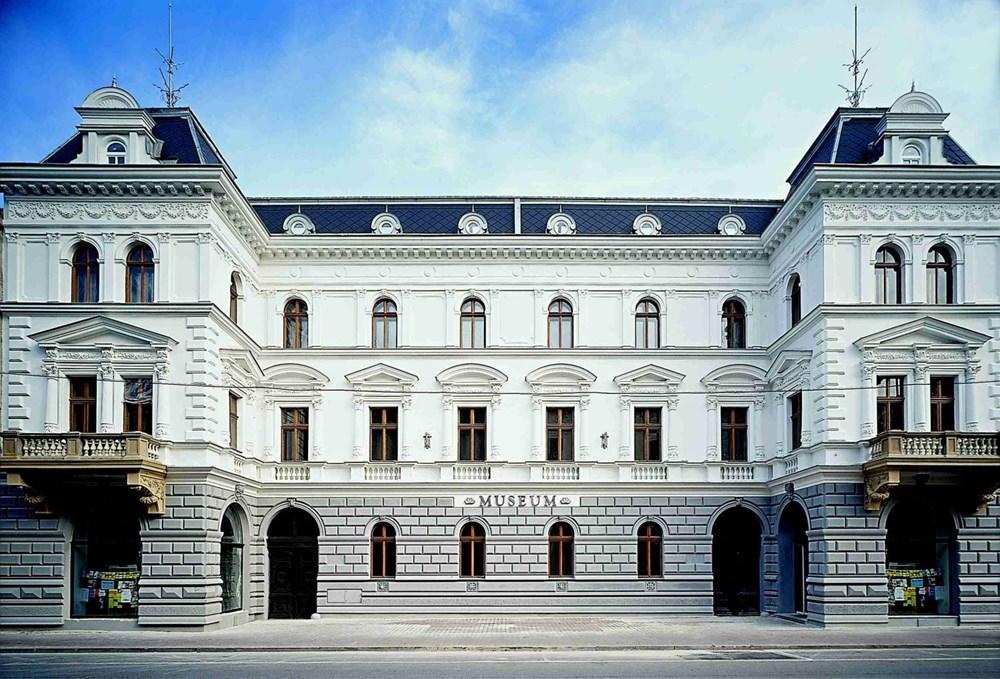 Budova Muzea Těšínska v Českém Těšíně.