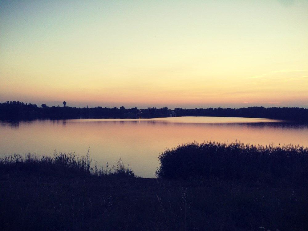 Kališovo jezero v Bohumíně.