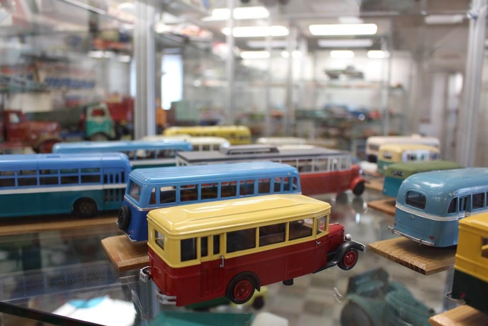 Popis: Muzeum autíček.