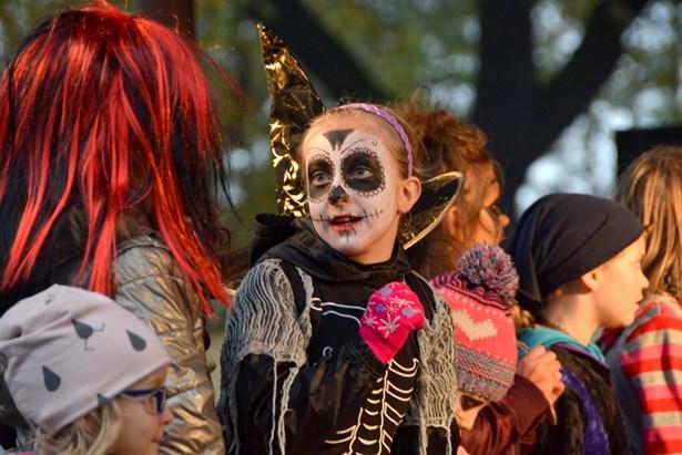 Popis: Halloween v Bohumíně.