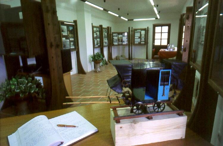 Popis: Muzeum koněspřežné dráhy v Bujanově.