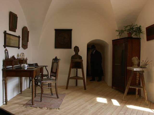 Popis: Muzeum Vysočiny v Pelhřimově.