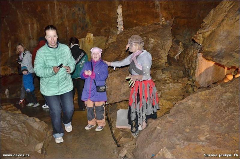 Popis: Kateřinská jeskyně.