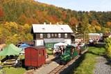 Areál železničky přiblíží práci se dřevem i historii arcibiskupské železnice