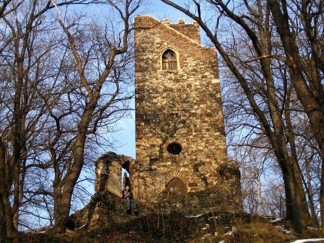 Z rozhledny Cibulka je vidět Motol, Petřínská rozhledna či Strahov
