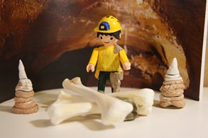 Muzeum Blanenska představuje IGRÁČKA speleologa