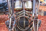 V KOVOZOO je k vidění betlém z kovového odpadu