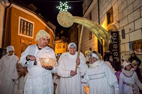 Český Krumlov nabízí o adventu především klid a poezii