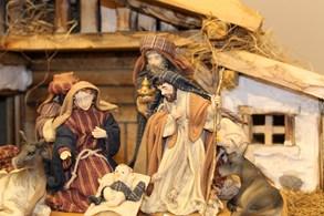 Advent na Šrámkově statku. K vidění je tady výstava betlémů