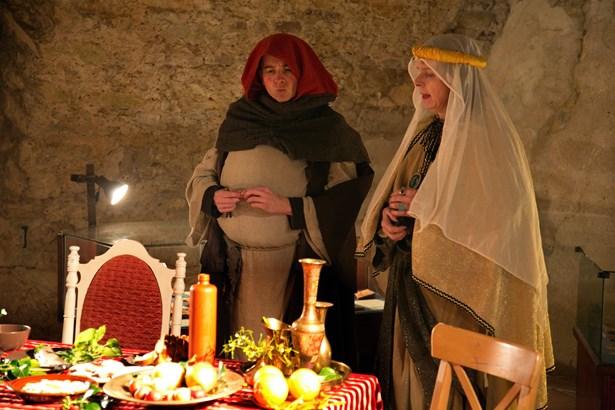 Popis: Vánoce na hradě Rabí.