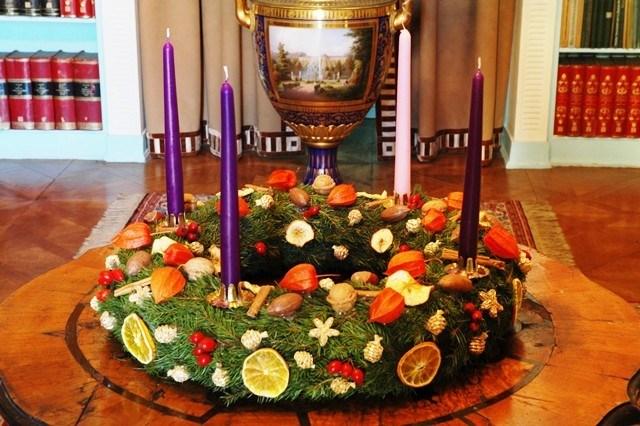 Popis: Advent na zámku Hořovice.