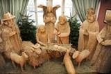 Výstava betlémů je letos věnována hlavně vánočnímu stromečku