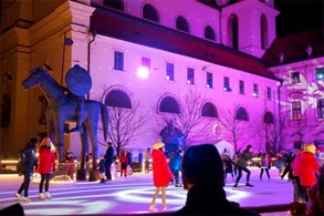 Přijďte si zabruslit na Moravské náměstí