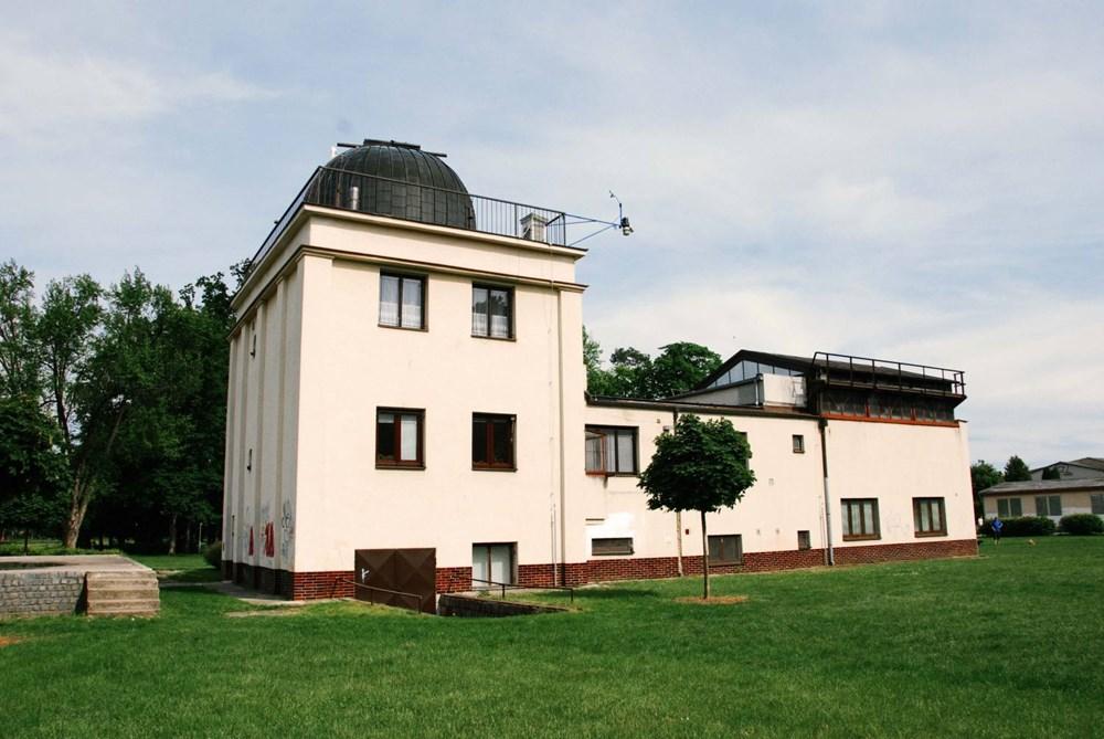 Lidová hvězdárna v Prostějově.