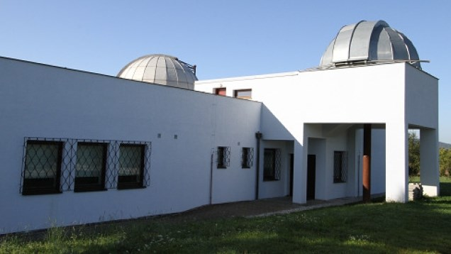 Popis: Hvězdárna v Rokycanech.