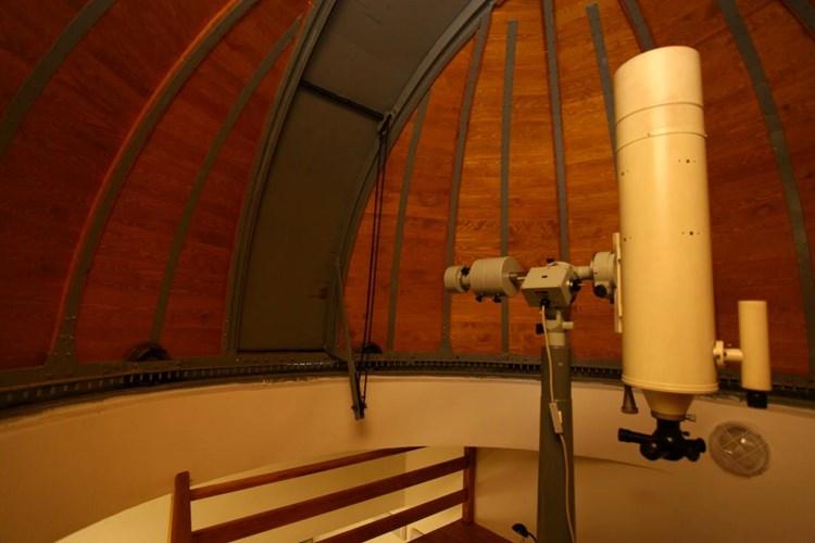 Z táborské hvězdárny můžete pozorovat většinu planet Sluneční soustavy