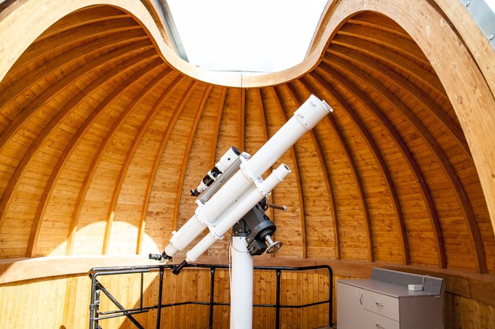 Hvězdárna a planetárium v Teplicích.