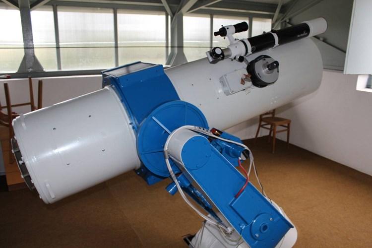 Hvězdárna Vyškov má největší dalekohled pro veřejnost na Moravě