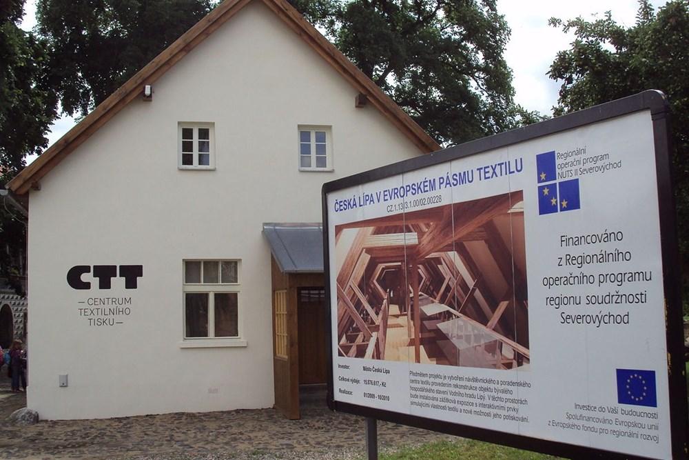 Popis: Centrum textilního tisku v České Lípě.