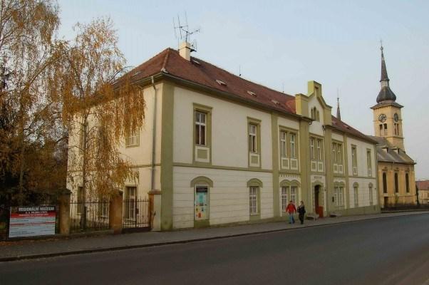 Popis: Regionální muzeum K. A. Polánka v Žatci.