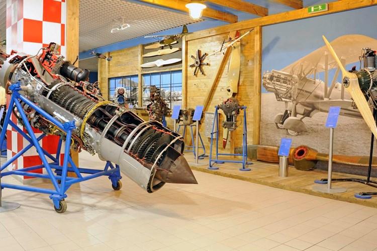 Technické muzeum nabízí šestnáct stálých expozic
