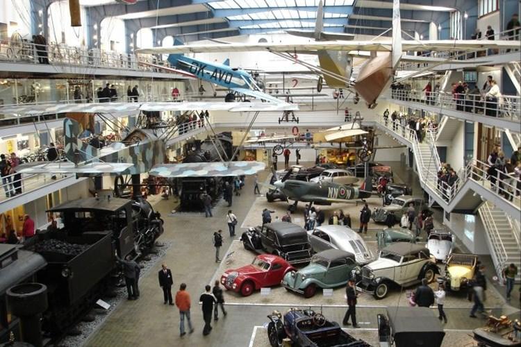 Sbírky muzea dokumentují vývoj mnoha technických oborů