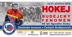 Hokejový klub v Českých Budějovicích slaví 90. výročí od založení i výstavou v Jihočeském muzeu