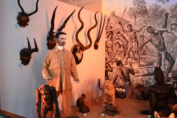 Popis: Africké muzeum Dr. Emila Holuba.