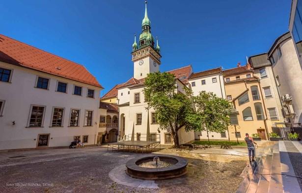 Popis: Věž Staré radnice v Brně.