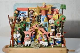 Dřevěné a mechanické betlémy jsou k vidění v Poličce