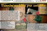 Vánoční nadílka pro zvířátka z Farmy Dubno již v sobotu 22. prosince