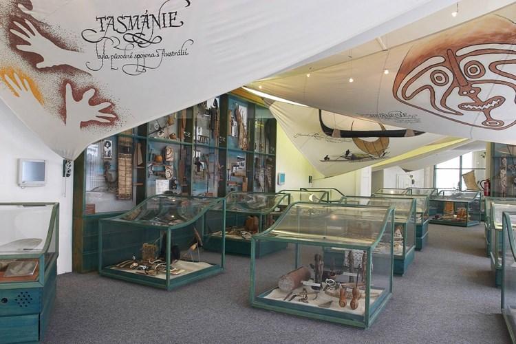 Náprstkovo muzeum se věnuje odkazu neevropských civilizací. Jako jediné v Česku