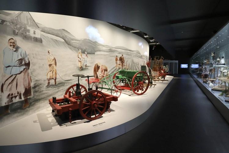 Muzeum nabízí unikátní pohled na všechno, co zahrnuje zemědělství