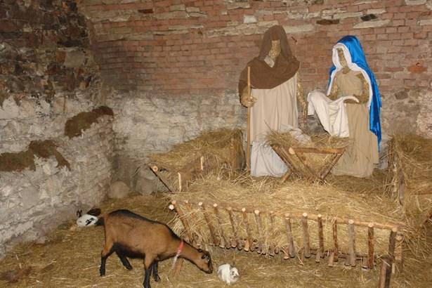 Popis: Vánoce na hradě Křivoklát.