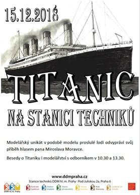 Poslechněte si příběh legendární lodi Titanic. Ve Stanici techniků v Praze