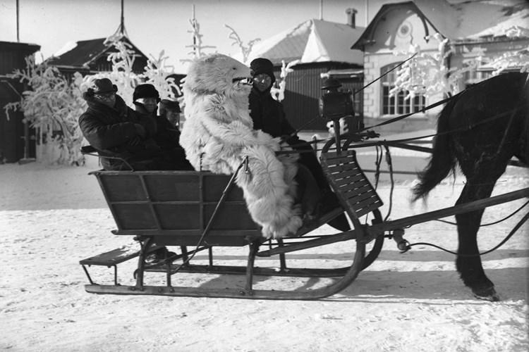Výstava přibližuje život obyvatel Krušnohoří v zimním období od druhé poloviny 19. století do poloviny 20. století