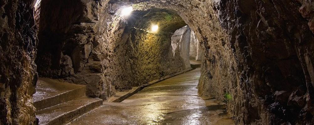 Popis: Jihlavské podzemí.