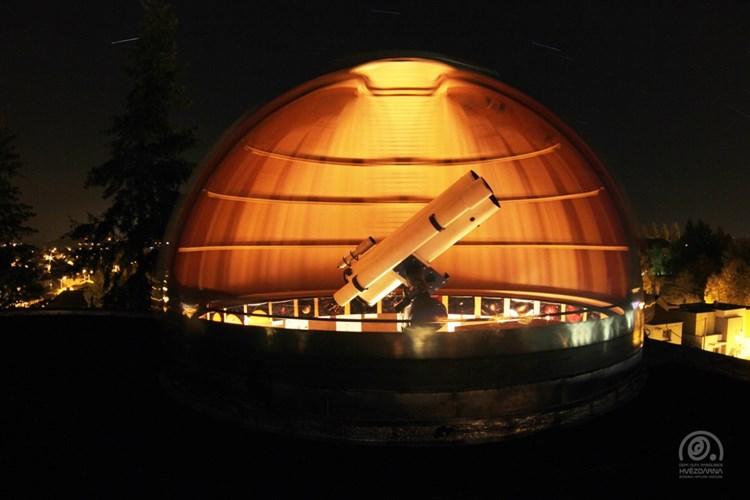 Hvězdárna barona Artura Krause přináší možnost podívat se na planety, hvězdy i astronomické jevy