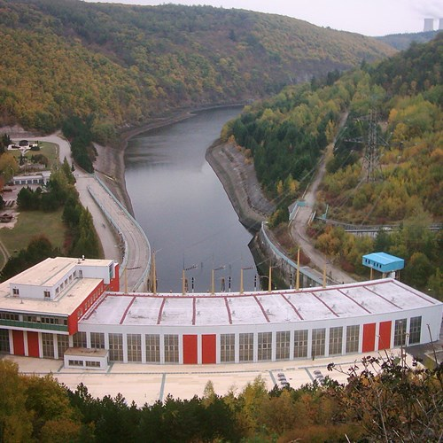 Přečerpávací vodní elektrárna Dalešice
