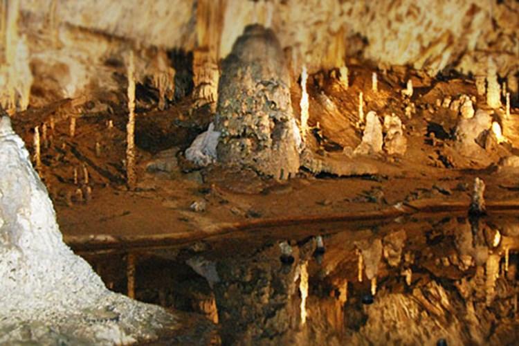 Punkevní jeskyně ročně vidí na 200 tisíc turistů. Jezdí je obdivovat i Japonci