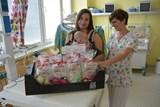 Dětská oddělení v Prostějově i Šternberku dostala dárečky pro nedonošené děti