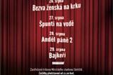 Diváci v Kladně uvidí pod širým nebem čtyři filmy ve čtyřech dnech