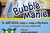BubbleMánie slibuje jedinečnou bublinovou show