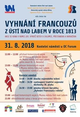 Prázdniny zakončí historická bitva v centru Ústí