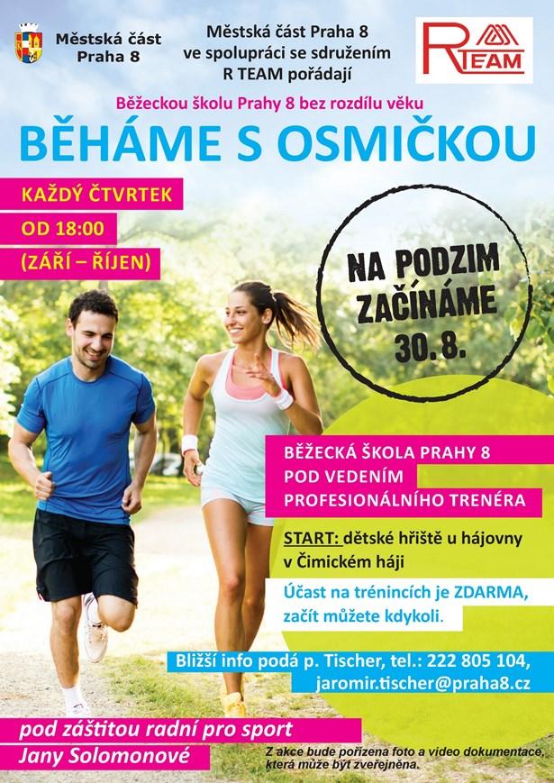 Praha 8 zavádí běžeckou školu nazvanou Běháme s Osmičkou