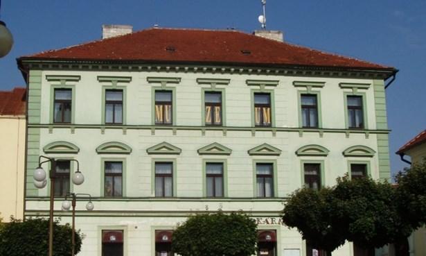 Popis: Městské muzeum v Žebráku.